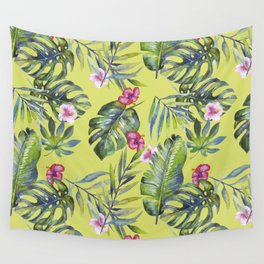Palm Leaves Pattern 6 Wall Tapestry