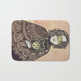 The Seer and the Owl Bath Mat