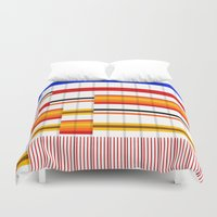 saga Duvet Covers featuring The Saga Begins by Whytes Online