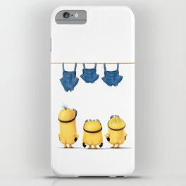 MINIONS LIFE: TOO HOT iPhone Case