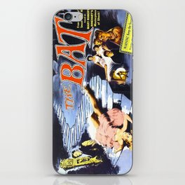 The Bat, vintage horror movie poster iPhone Skin