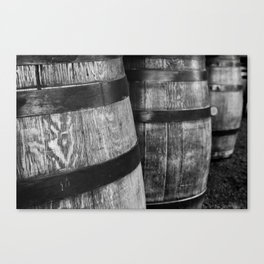 Wine Barrels in San Luis Obispo Canvas Print