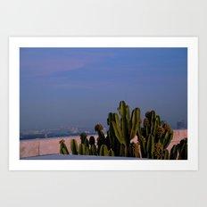 cactus composition Art Print