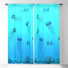 Deep Sea Blackout Curtain