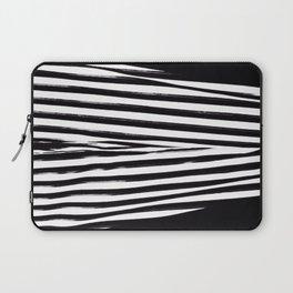 Black & White Stripes Laptop Sleeve