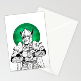 Clovis, the Undead Warrior Queen of Green Falls Tomb Stationery Cards