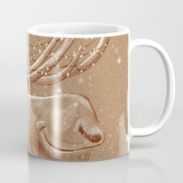 Moose Christmas Coffee Mug