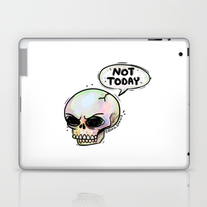 Not Today Laptop & iPad Skin