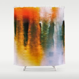 The First Broken Machine Shower Curtain
