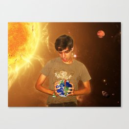 Take Over The World!!! Canvas Print