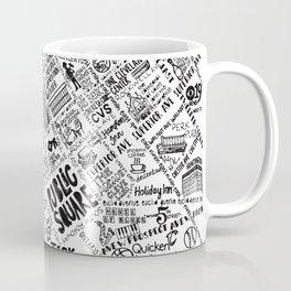 Cleveland Ohio Map Coffee Mug