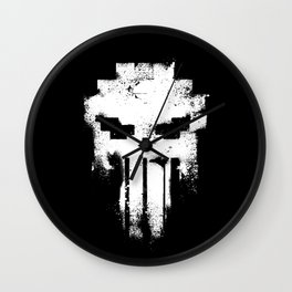 Space Punisher Wall Clock