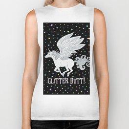 Glitter Butt! Biker Tank