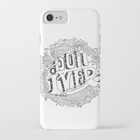 bon iver iPhone & iPod Cases featuring Bon Iver  by Infinity Arrows