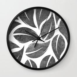 falling leaves VIII Wall Clock