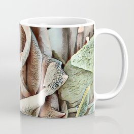 Toony World - Floral (Rose) Coffee Mug