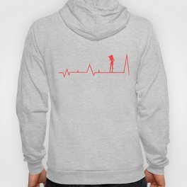 Anime Asuka Heartbeat Monitor Shirt Hoody