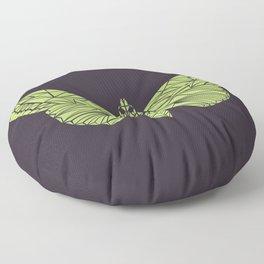 The envy of the moth - Geometric design Floor Pillow