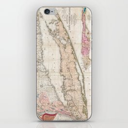 Long and Staten Island Map iPhone Skin