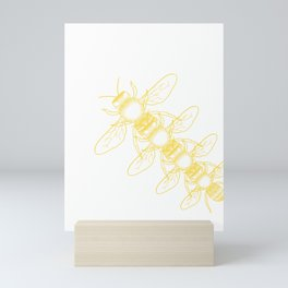 Beekeeper Honey Gift Idea Bee Design Mini Art Print