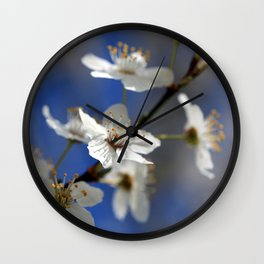 Weißdorn Wall Clock
