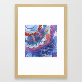 Dancing Towards Joy Framed Art Print