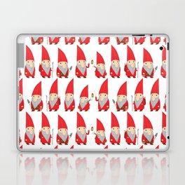 Gnome Pattern Laptop & iPad Skin