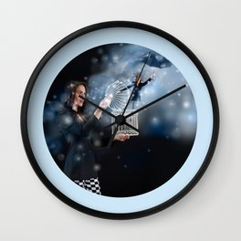 Letting Go and Finding Inner Freedom Wall Clock