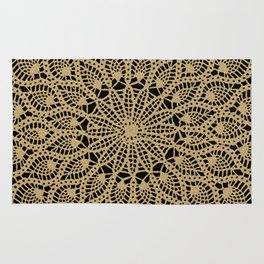 Delicate Golds Rug