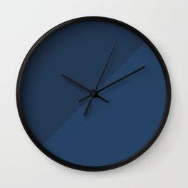 Blue Triangle V1 Wall Clock