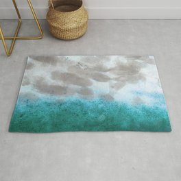 Rusted Horizons Frost Rug