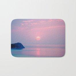 Calm sunrise Bath Mat