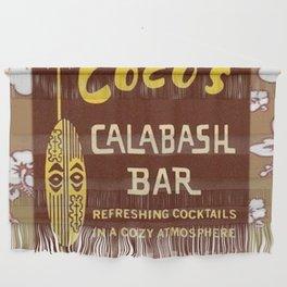Tiki Art - Coco's Calabash Bar Wall Hanging