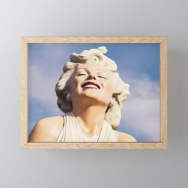 0243 LOVE Forever Marilyn - Seven Year Itch - Monroe Framed Mini Art Print