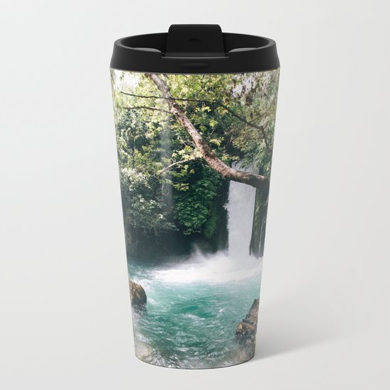 Chasing Waterfalls Metal Travel Mug
