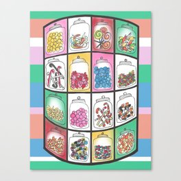 Candy Shop Canvas Print