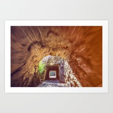 Double Mountain Tunnel Art Print
