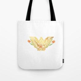 wonder.woman floral Tote Bag
