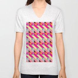 Pattern1 Unisex V-Neck