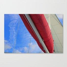 A Cayman Sail III Canvas Print