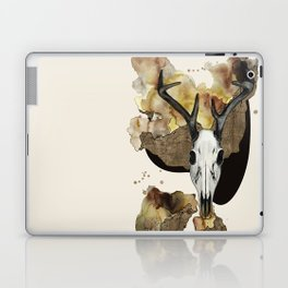 Deer Skull by carographic Laptop & iPad Skin