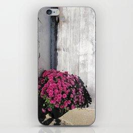 Doorstep Bouquet iPhone Skin