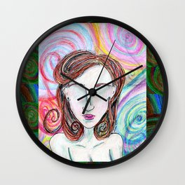 Unreal Portrait, One Wall Clock