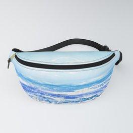 watercolour ocean Fanny Pack