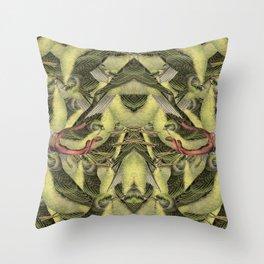 To bird or not to bird Throw Pillow