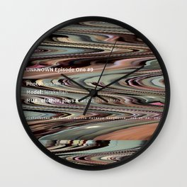 UNKNOWN Episode One #9 Final Version #1. Wall Clock
