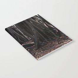 Spooky Winter Trees Notebook