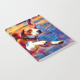 Beach Beagle Notebook