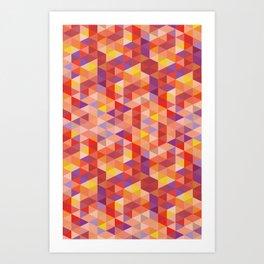 Cube Four Art Print