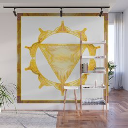 You Are My Sunshine Abstract Chakra Art  Wall Mural